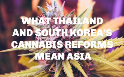 What Thailand And South Korea's Medical Marijuana Reforms Mean For Asia